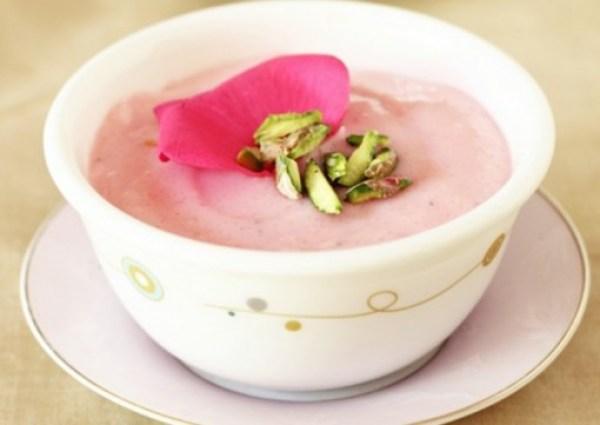 Rose Petal Indian Rice Pudding