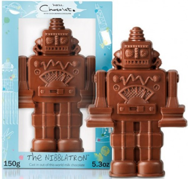 Robot Chocolate Gift For Easter