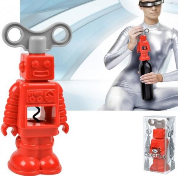 Robottle Robot Corkscrew