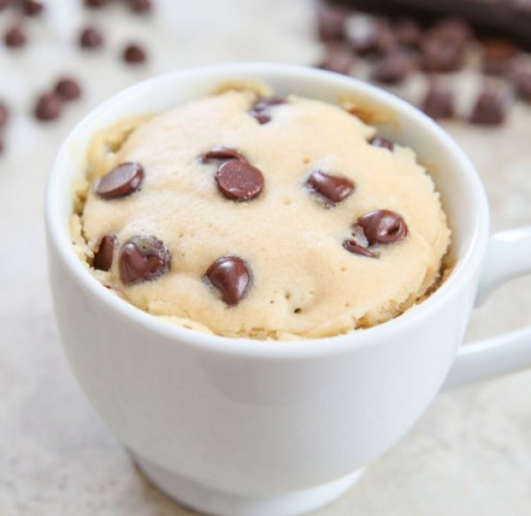 Chocolate Chip Mug Cake