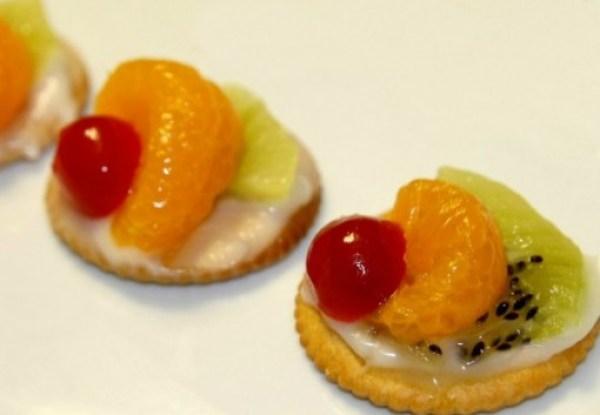 Mini Fruit Tart Ritz