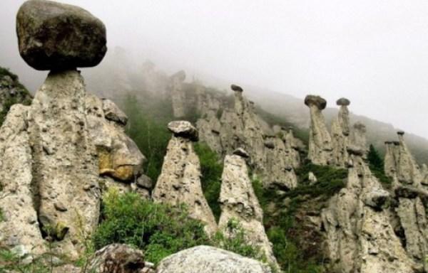 The Mushroom Stones, Altai