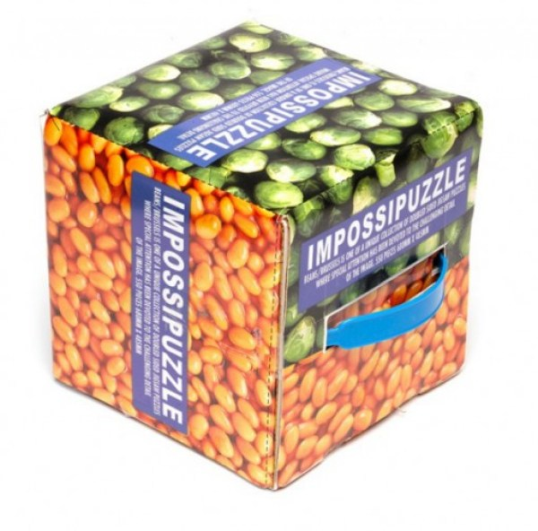 Impossipuzzle Beans/Sprout Jigsaw Puzzle - 550 Pieces