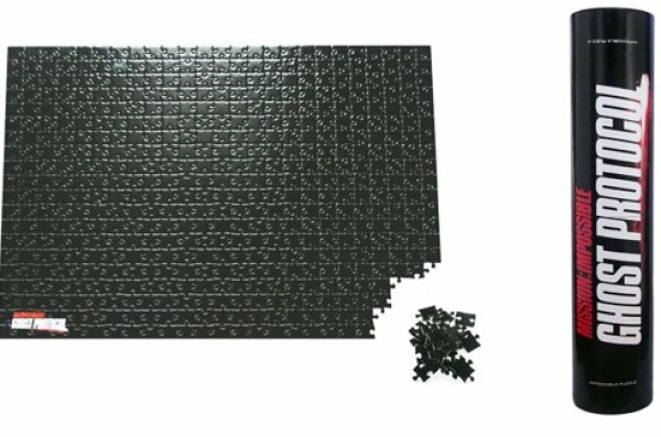 Mission Impossible Blank Jigsaw Puzzle - 500 Pieces