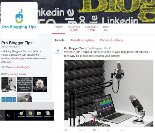 Pro Blogger Tips