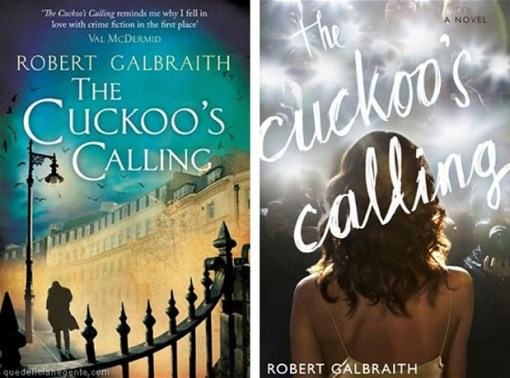 "Robert Galbraith ""The Cuckoo's Calling."""