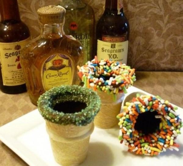 Ice Cream Cone Edible Shot Glass