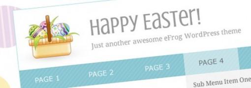 Easter Blog Theme