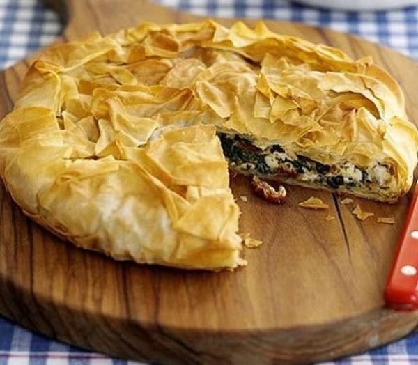 Crispy Greek-Style Easter Pie