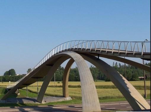 Leonardo Da Vinci's Bridge, Akershus
