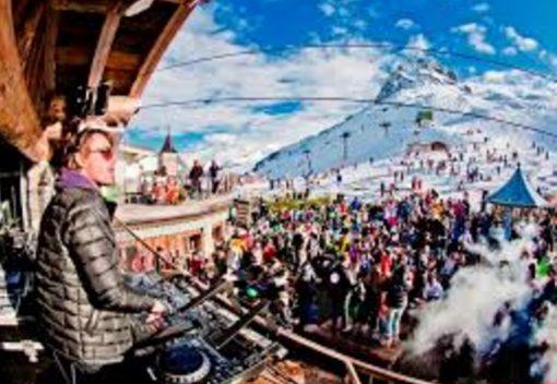 Ski Slope Dance Parties