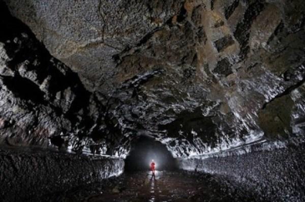 Búri Cave, Leitahraun