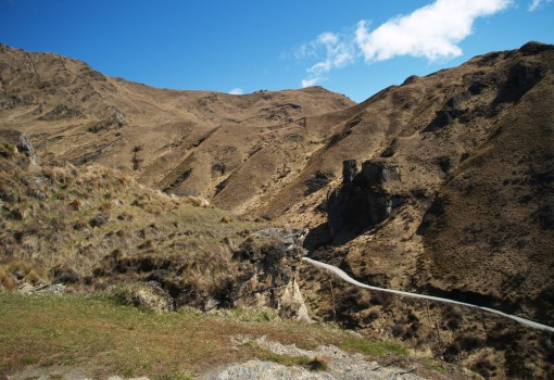 Skippers Canyon Road, New Zealand