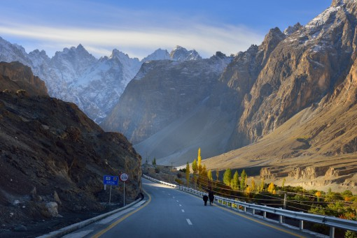 """The Karakorum """"Friendship"""" Highway, China, and Pakistan"""