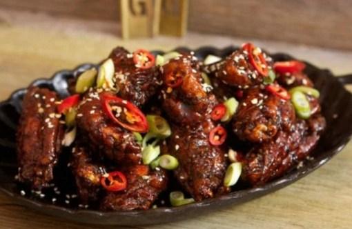 Spicy Korean Fried Chicken