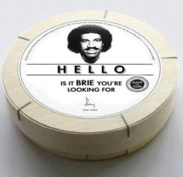 Lionel Richie Brie Cheese