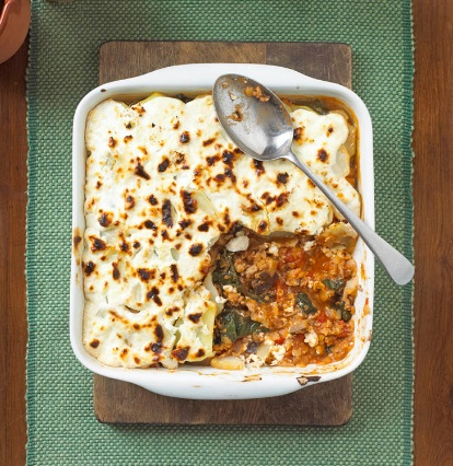 Lamb and Lentil Moussaka