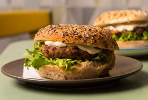 Carrot, Cumin and Kidney Bean Burger