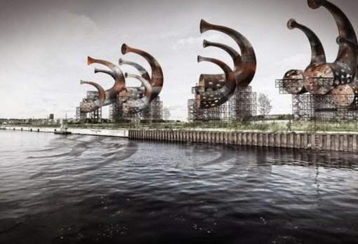 Sound of Denmark, Esbjerg Docks