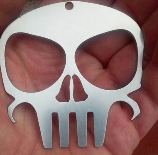 The Punisher Bottle Opener