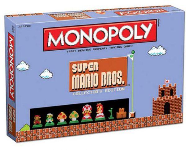 Super Mario Bros Monopoly Board Game Set