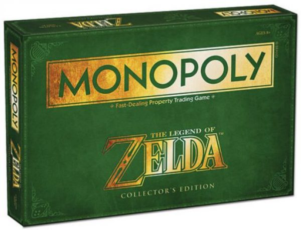 The Legend of Zelda Monopoly Board Game Set