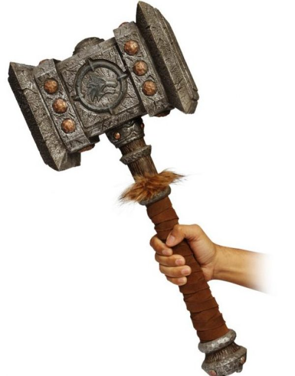 World Of Warcraft Foam Doom Hammer