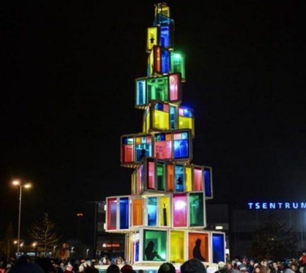 Unusual Christmas Tree, Rakvere