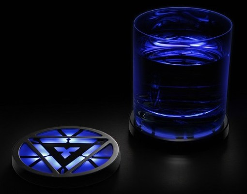 Iron Man 3 Arc Light Up Drink Coasters