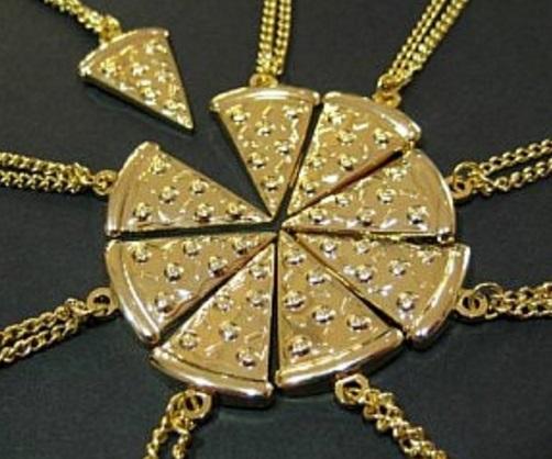Pizza Friendship Necklace