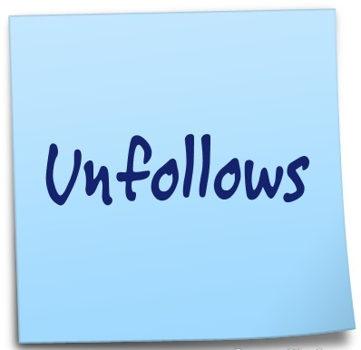 Unfollows