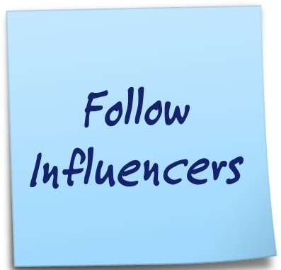 Follow Influencers