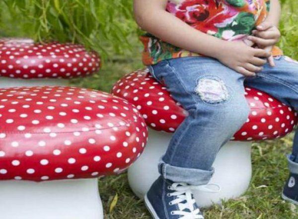 Mushroom Pouffes