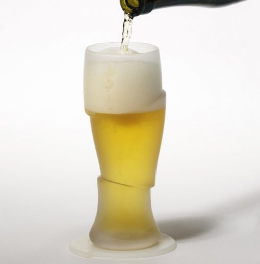Sliced Beer and Pint Glass