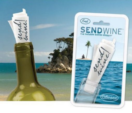 Send Wine Wine Bottle Stoppers