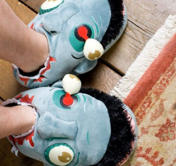 Novelty Zombie Slippers