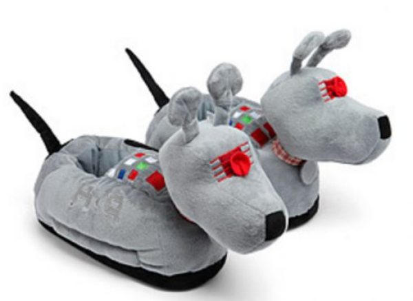 Novelty Doctor Who K9 Slippers