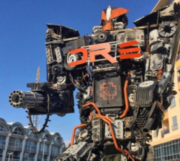 The Transformers of Podgorica, Podgorica