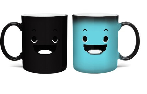 8 Bit Rise & Shine Heat Changing Mug