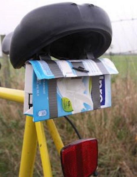 Juice Carton Saddlebag