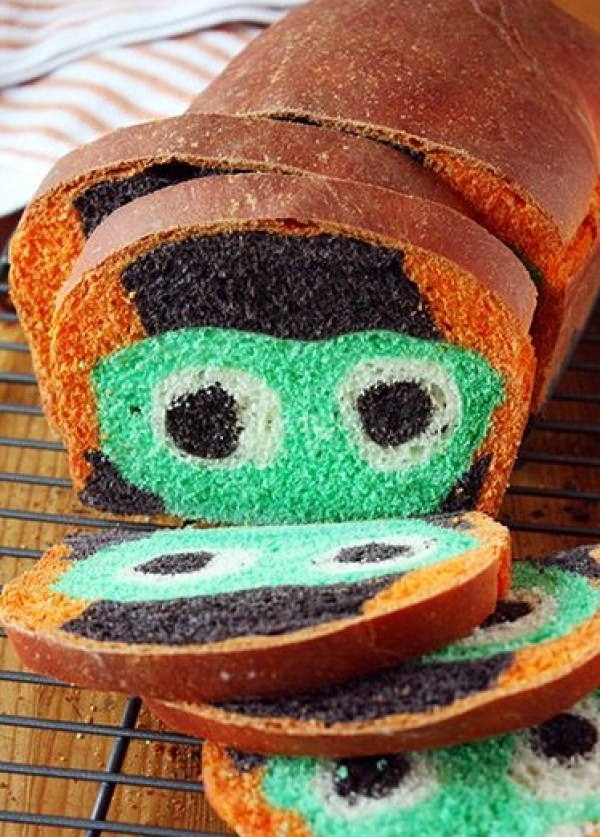 Frankenstein Bread