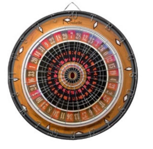 Roulette Darts