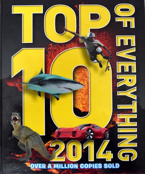 Top 10 of Everything 2014 - By Russell Ash