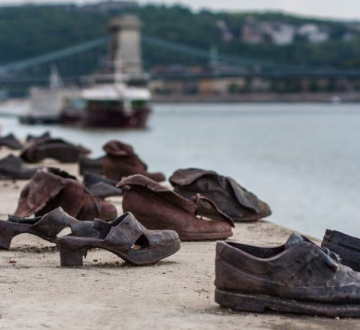 Shoes on the Danube Promenade, Budapest
