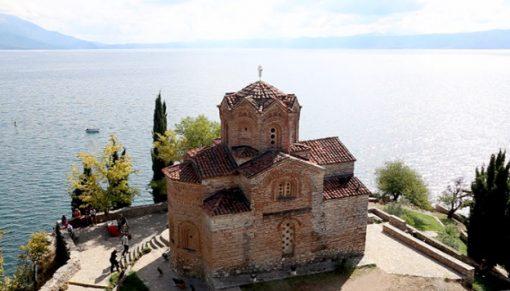 Monastery of St. Naum, Ohrid lake