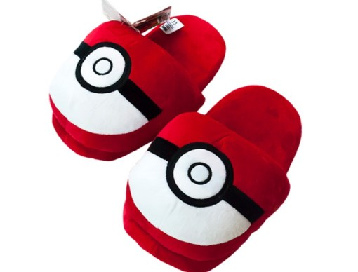 Pokéball Slippers