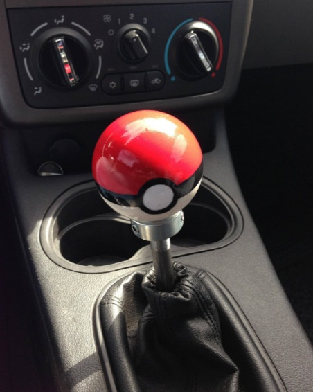 Pokéball Gear Shift Knob