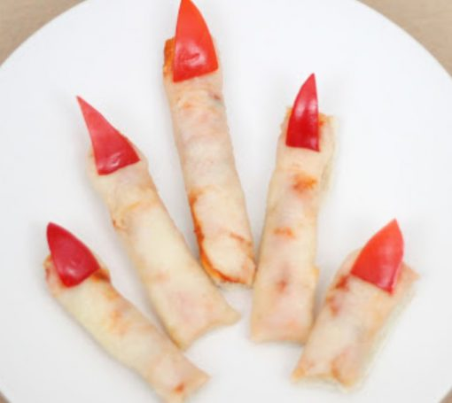 Halloween Pizza Fingers