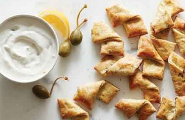 Horseradish-Dill Pastry Crackers