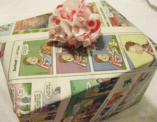Gift Wrapped in Comic Pages